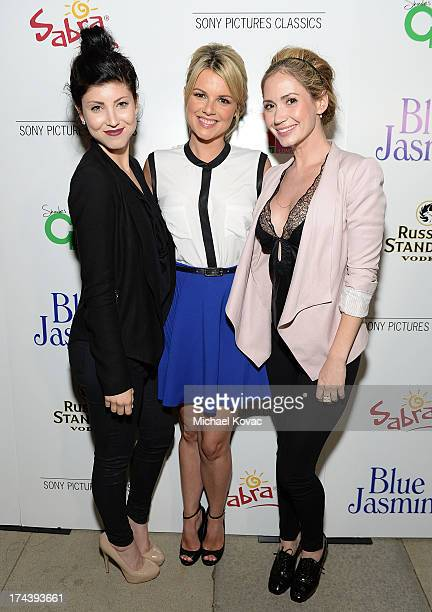 Actresses Briana Cuoco Ali Fedotowsky and Ashley Jones attend the afterparty for AFI And Sony Picture Classics' Hosts The Premiere Of Blue Jasmine on...