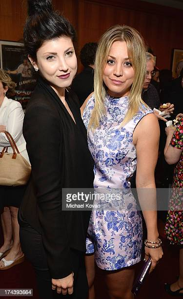 Actresses Briana Cuoco and Kaley Cuoco attend the afterparty for AFI And Sony Picture Classics' Hosts The Premiere Of Blue Jasmine on July 24 2013 in...