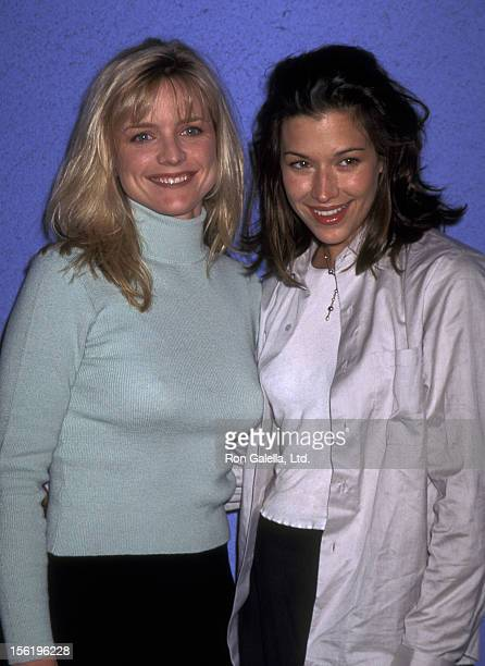 Actresses Brooke Langton and Courntey ThorneSmith attending Traffic Studio Clothing Store Benefit for the Los Angeles Mission on November 16 1996 at...