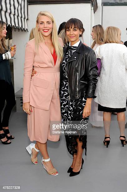 Actresses Busy Philipps and Rashida Jones attend a dinner to celebrate Glamour's June Success Issue hosted by Glamour EditorinChief Cindi Leive...
