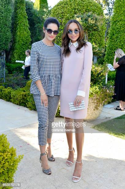 Actresses Camilla Belle and Ashley Madekwe attend the Victoria Beckham for Target Launch Event on April 1, 2017 in Los Angeles, California.