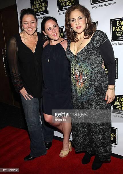 Actresses Camryn Manheim Ricki Lake and Kathy Najimy arrive at Back to Bacharach and David Opening Night at The Music Box @ Fonda on April 19 2009 in...