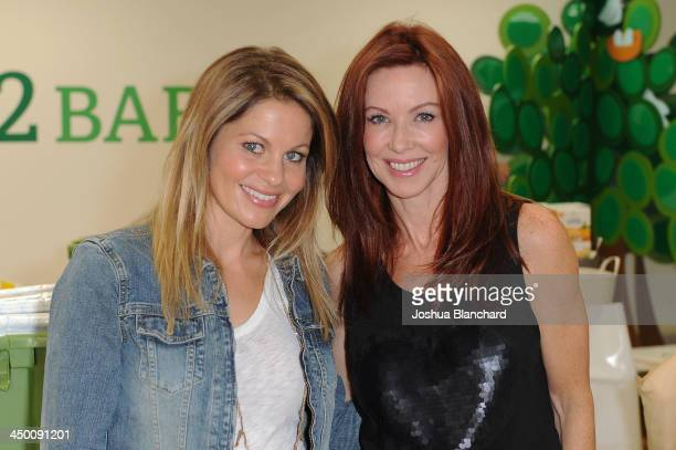 Actresses Candace Cameron Bure and Challen Cates attend the Baby2Baby Headquarters for the Celebrity StuffAThon Benefiting Baby2Baby on November 16...