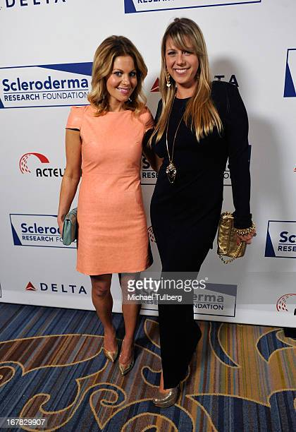 Actresses Candace Cameron Bure and Jodie Sweetin attend the Cool Comedy Hot Cuisine Event To Benefit The Scleroderma Research Foundation event at...