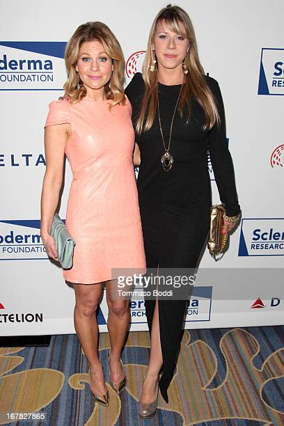 Actresses Candace CameronBure and Jodie Sweetin attend the Cool Comedy Hot Cuisine A benefit for the scleroderma research foundation held at the...