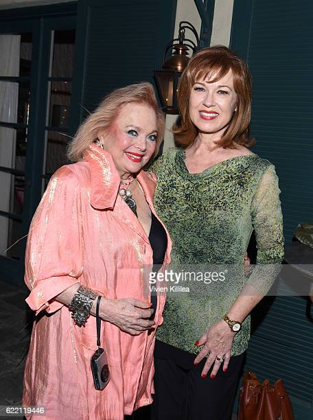 Actresses Carol Connors and Lee Purcell attend TWCDimension Celebrates The Cast And Filmmakers Of Gold on November 9 2016 in Los Angeles California