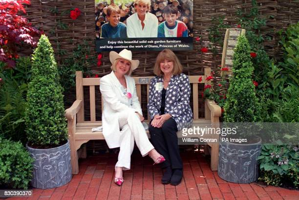 Actresses Carol Harrison and Nerys Hughes sit on the Diana Princess of Wales garden bench at the Chelsea Flower Show The Memorial Fund has agreed to...