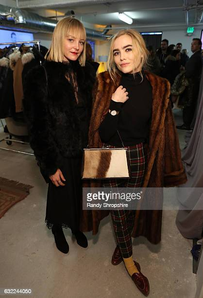 Actresses Chelsea Lopez and Maddie Hasson attend ATT At The Lift during the 2017 Sundance Film Festival on January 20 2017 in Park City Utah