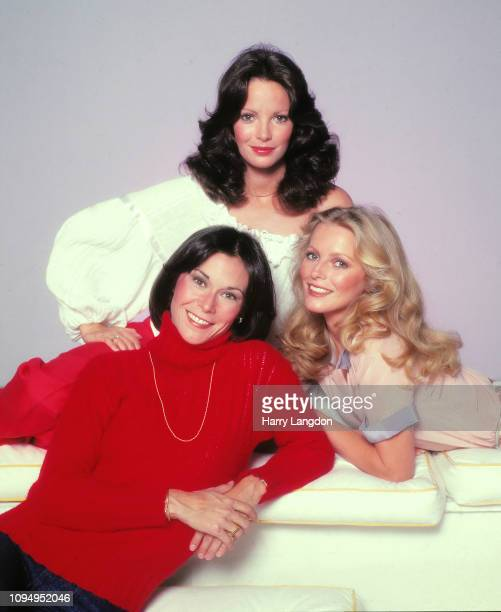 LOS ANGELES 1978 actresses Chery Ladd Jaclyn Smith Kate Jackson pose for a portrait in Los Angeles California