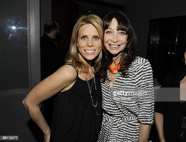 Actresses Cheryl Hines and Ileana Douglas attend the Los Angeles Women's International Film Festival Opening Night Gala at Libertine on March 26 2010...