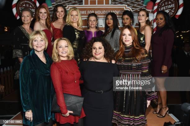 Actresses Cheryl Ladd Sarah Drew Rachel Boston Megan Hilty Melissa Joan Hart Toni Braxton Tiya Sircar Bethany Joy Lenz Keshia Knight Pulliam Danneel...