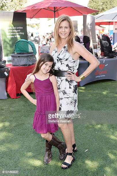 Actresses Christie Lynn Smith and Abby Ryder Fortson attend Step2 Favoredby Present The 5th Annual Red Carpet Safety Awareness Event on September 24...