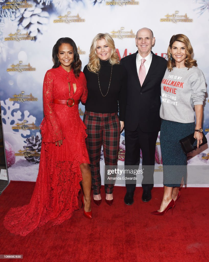 Alison Sweeney Family Pictures actresses christina milian and alison sweeney, crown media