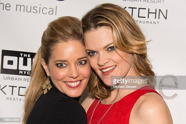 Actresses Christina Moore and Missi Pyle attend BARE The Musical Opening Night After Party at Out Hotel on December 9 2012 in New York City