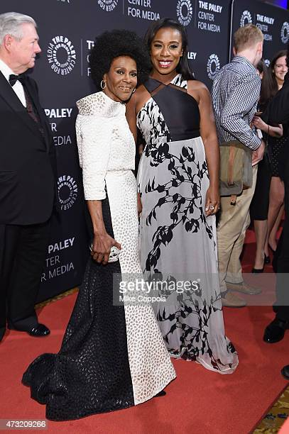 Actresses Cicely Tyson and Uzo Aduba attend A Tribute To AfricanAmerican Achievements In Television hosted by The Paley Center For Media at Cipriani...