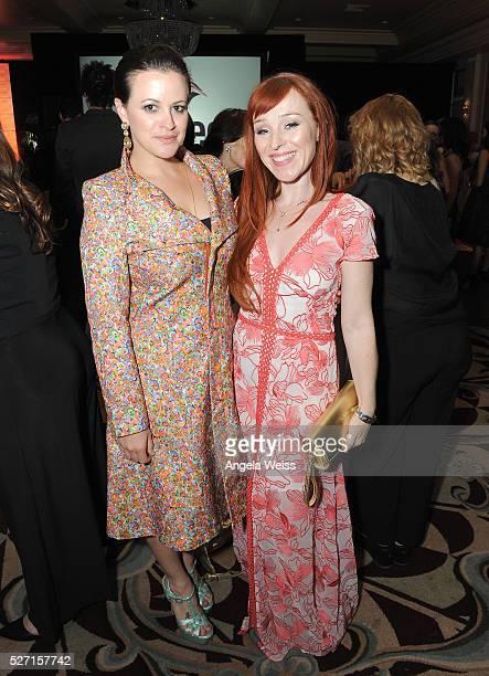Actresses Clementine Heath and Ruth Connell attend BritWeek's 10th Anniversary VIP Reception Gala at Fairmont Hotel on May 1 2016 in Los Angeles...