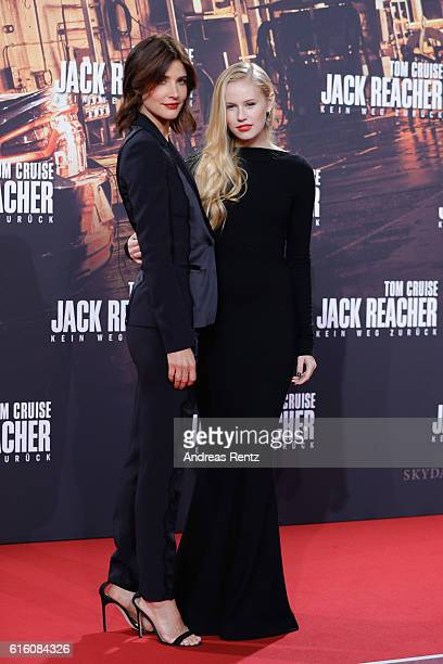 Actresses Cobi Smulders and Danika Yarosh attend the 'Jack Reacher Never Go Back' Berlin Premiere at CineStar Sony Center Potsdamer Platz on October...