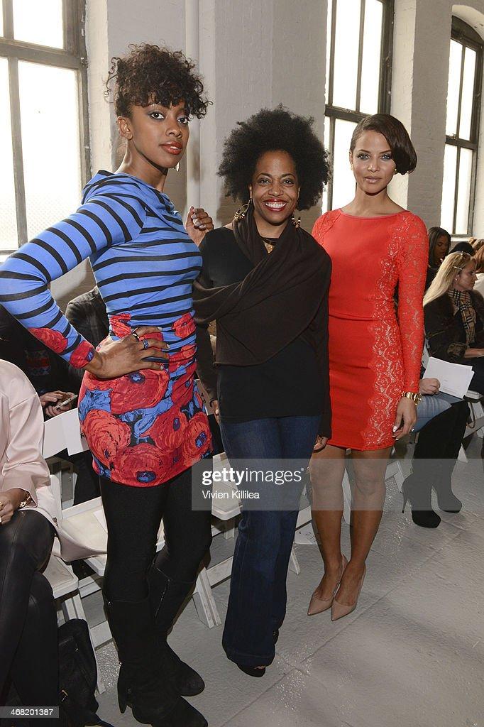 Tracy Reese - Front Row - Mercedes-Benz Fashion Week Fall 2014 : Foto jornalística