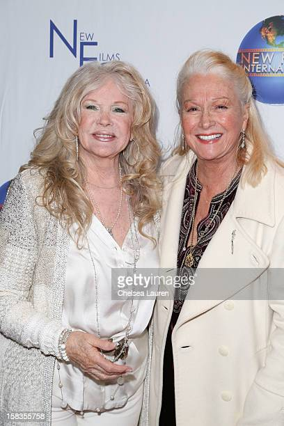 Actresses Connie Stevens and Diane Ladd attend the screening of Saving Grace B Jones at ICM Screening Room on December 13 2012 in Century City...