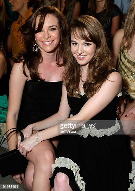 Actresses Danielle Panabaker and Kay Panabaker during the 7th Annual Teen Vogue Young Hollywood Party held at Milk Studios on September 25 2009 in...