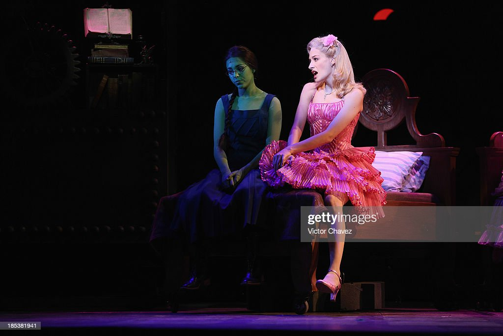 'Wicked' Mexico City - Media Call : News Photo