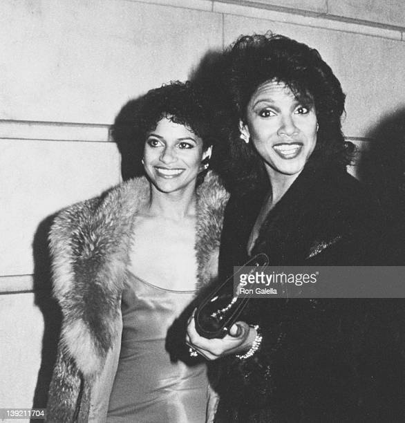 Actresses Debbie Allen and Phylicia Rashad attending Kennedy Center Honors Awards on December 2 1984 at the Kennedy Center in Washingon DC