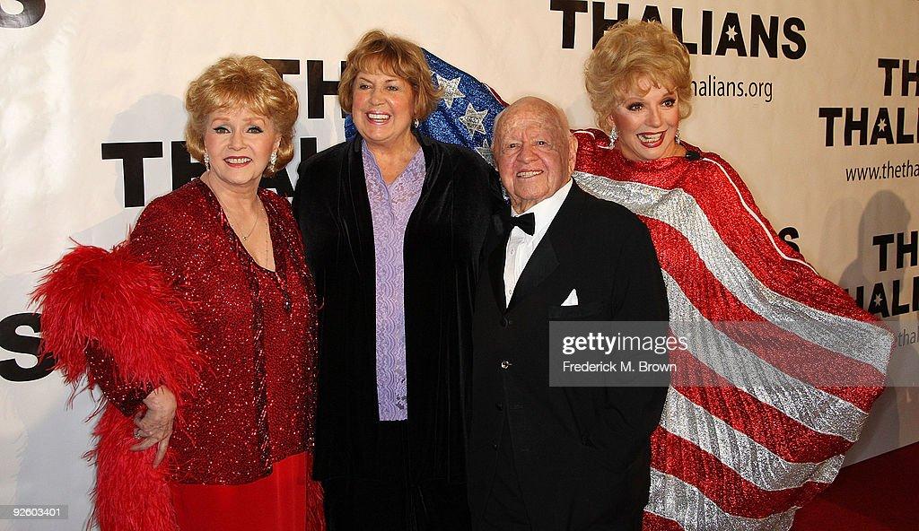 54th Annual Thalians Ball Honoring Mickey Rooney : News Photo