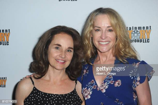 Actresses Diane Franklin and Amanda Wyss arrive for the Screening Of Entertainment Factory's 'Garlic And Gunpowder' held at TCL Chinese 6 Theatres on...