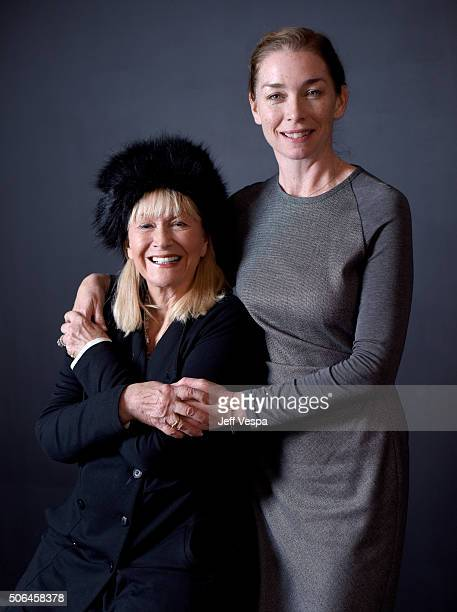 """Actresses DIane Ladd and Julianne Nicholson from the film """"Sophie and the Rising Sun"""" pose for a portrait during the WireImage Portrait Studio hosted..."""