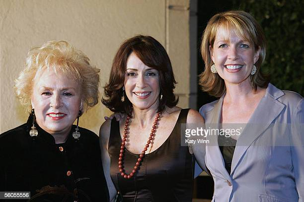 Actresses Doris Roberts Patricia Heaton and Monica Horan are honored at the Women in Film and Television International Women of Achievement Awards...