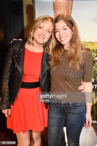 Actresses Dorothee Pousseo and Celia Rosich attend 'Problemos' Paris Premiere At UGC Cine Cite Les Halles on May 9 2017 in Paris France