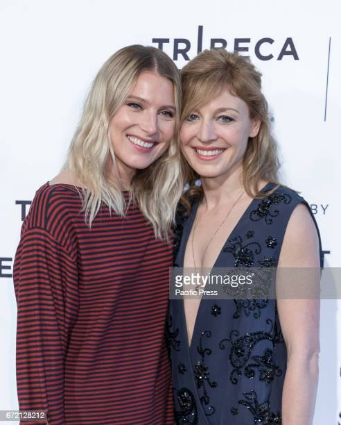 Actresses Dree Hemingway and Juliet Rylance attend US Narrative CompetitionLove After Love Premiere during the 2017 Tribeca Film Festival at SVA...