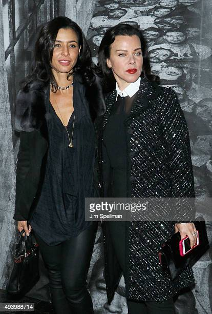 Actresses Drena De Niro and Debi Mazar attend the Ellis New York premiere on October 23 2015 in New York City