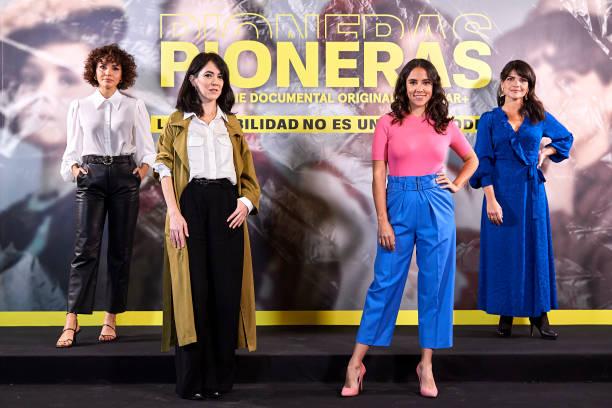 "ESP: ""Pioneras"" Movistar Photocall In Madrid"