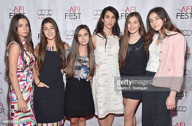 Actresses Elit Iscan Doga Zeynep Doguslu Gunes Nezihe Sensoy director Deniz Erguven and actresses Ilayda Akdogan and Tugba Sunguroglu attend the...