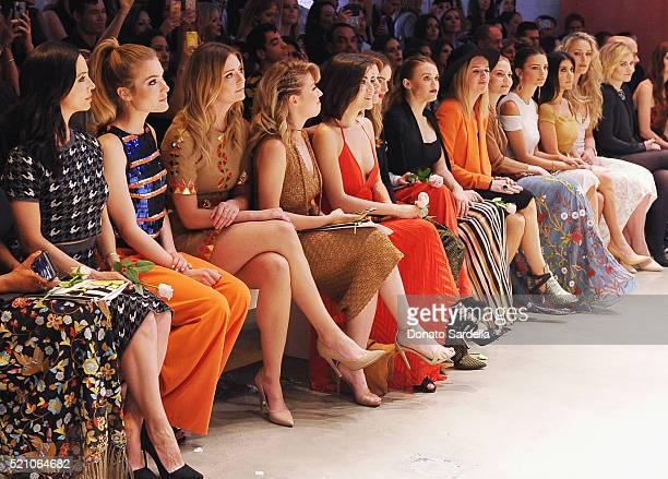 Actresses Eliza Dushku Skyler Samuels Mischa Barton Jennette McCurdy Isabelle Fuhrman and Holland Roden singer ZZ Ward actresses Jennifer Morrison...
