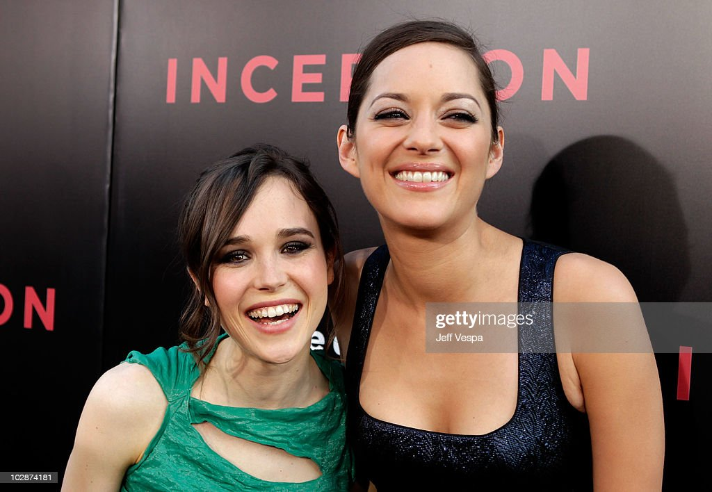 Actresses Ellen Page And Marion Cotillard Arrive At The