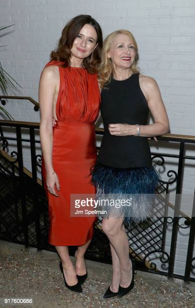 Actresses Emily Mortimer and Patricia Clarkson attend the screening after party for 'The Party hosted by Roadside Attractions and Great Point Media...