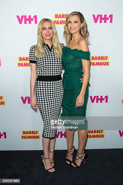 """Actresses Erin Foster and Sara Foster attends the premiere for VH1's """"Barely Famous"""" Season 2 on June 14, 2016 in West Hollywood, California."""