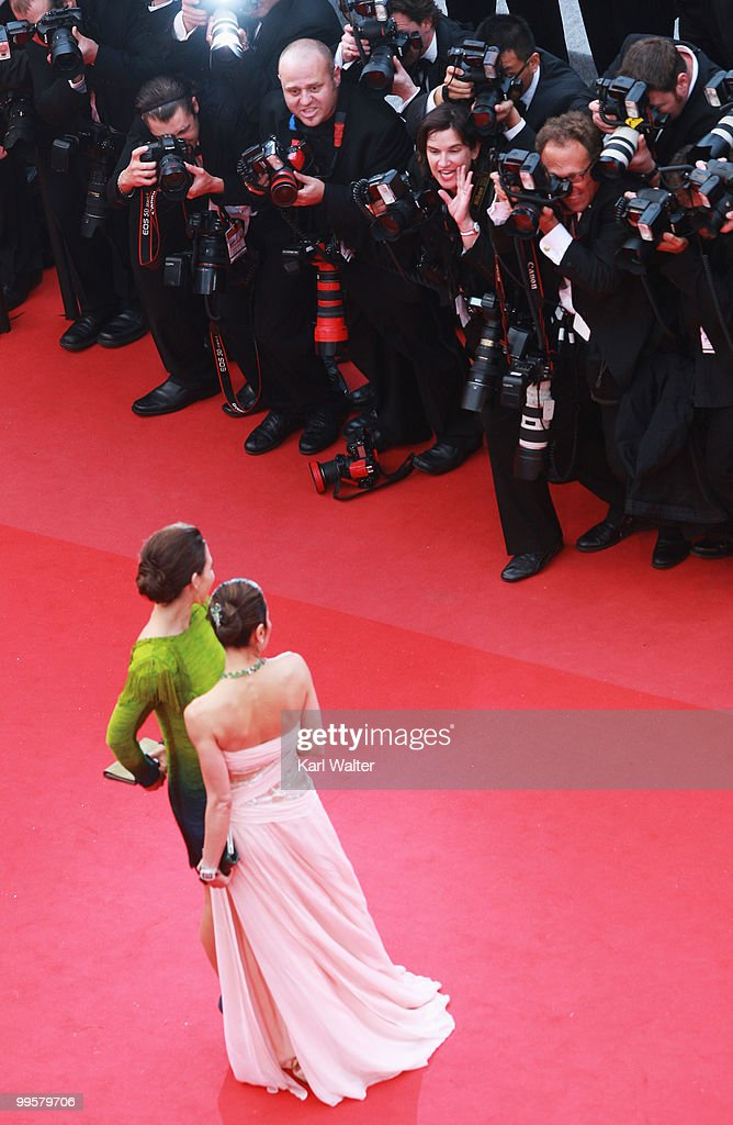 You Will Meet A Tall Dark Stranger - Premiere: Cannes Film Festival : News Photo