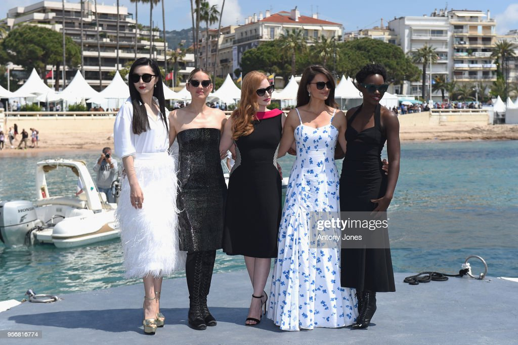 """""""355"""" Photocall - The 71st Annual Cannes Film Festival : News Photo"""