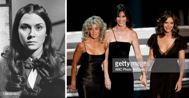 In this composite image a comparison has been made of actress Kate Jackson Many of today's leading Hollywood stars began their careers in daytime...