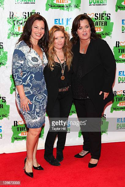 Actresses Fran Drescher Natasha Lyonne and Rosie O'Donnell attend Rosie's Building Dreams for Kids Gala at The New York Marriott Marquis on September...