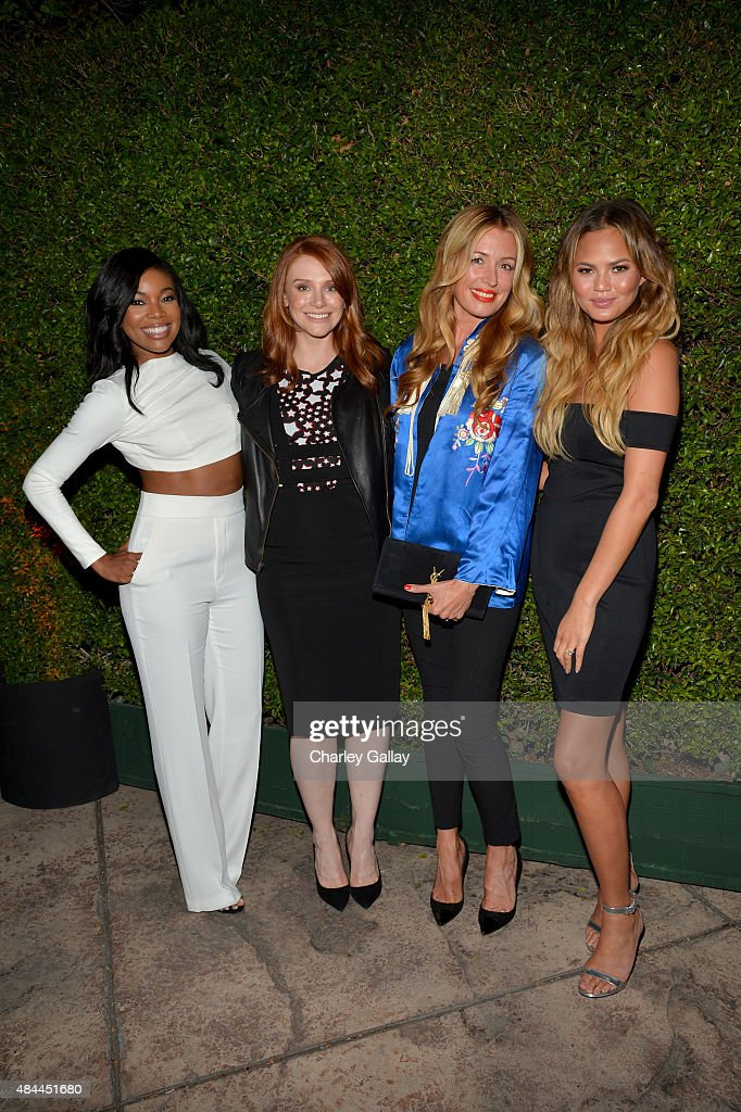 Actresses Gabrielle Union and Bryce Dallas Howared, TV personality Cat Deeley, and model Cat Deeley celebrate the new Samsung Galaxy S6 edge+ and Galaxy Note5 at Launch Event on August 18, 2015 in Los Angeles, California.