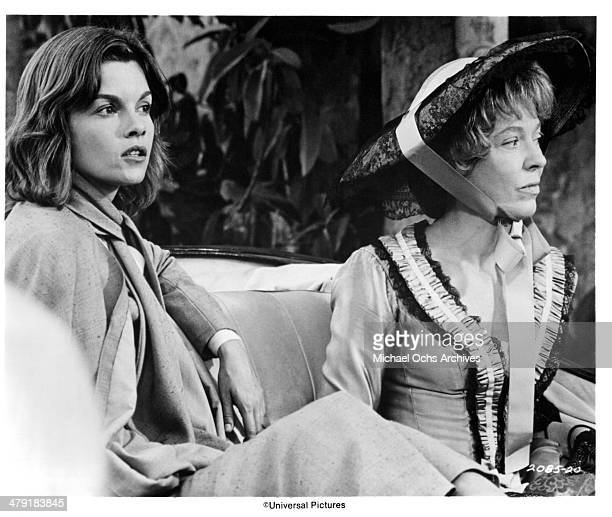 Actresses Genevieve Bujold and Louisa Horton in a scene from the Universal Pictures movie Swashbuckler circa 1976
