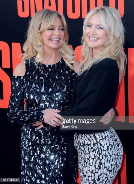 Actresses Goldie Hawn and Kate Hudson attend premiere of 20th Century Fox's' 'Snatched' at Regency Village Theatre on May 10 2017 in Westwood...