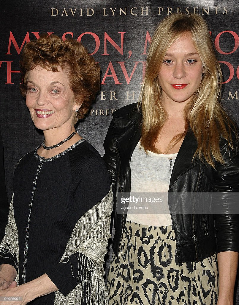 Actresses Grace Zabriskie and Chloe Sevigny attend the premiere of 'My Son, My Son What Have Ye Done' at The Downtown Independent on December 19, 2009 in Los Angeles, California.