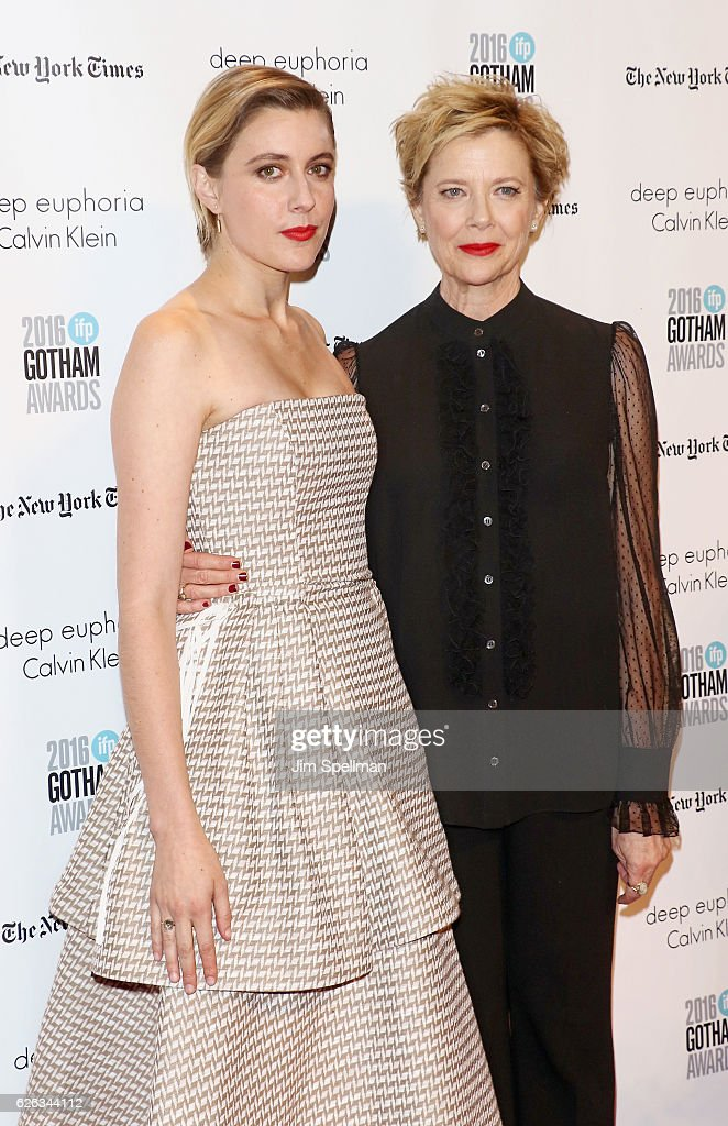 Actresses Greta Gerwig and Annette Bening attend the 26th Annual Gotham Independent Film Awards at Cipriani Wall Street on November 28, 2016 in New York City.