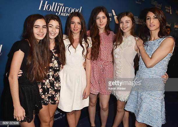 Actresses Gunes Sensoy Doga Zeynep Doguslu Elit Iscan Tugba Sunguroglu Ilayda Akdoga and director Deniz Gamze Erguven attend The Hollywood Reporter's...