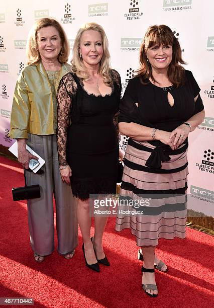 Actresses Heather Menzies Kym Karath and Debbie Turner attend the Opening Night Gala and screening of The Sound of Music during the 2015 TCM Classic...
